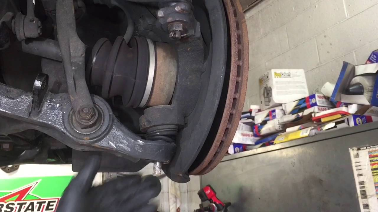 how to replace honda accord lower control arm [ 1280 x 720 Pixel ]