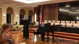 Ulli Reiner and Michael Krause in Recital, Sunday, November 10th 2019  Part Two