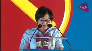 GE2015: Sylvia Lim speaks at WP rally at Ubi Ave 1, Sep 7