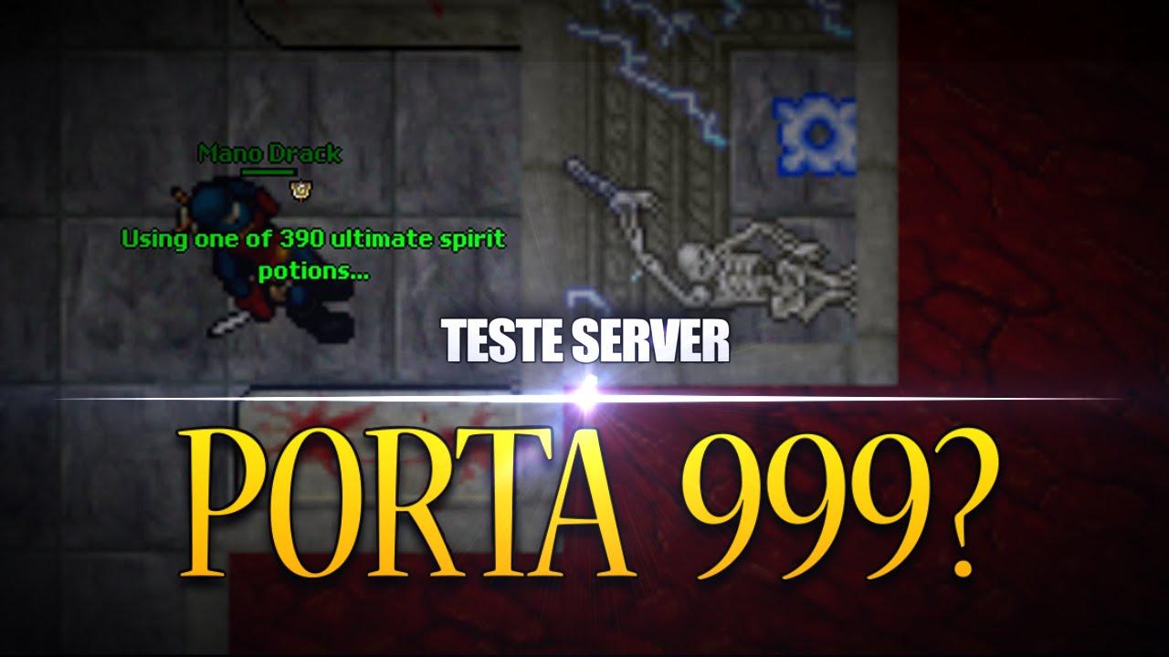 Nlnl porta 999 teste server youtube for Door 999 tibia