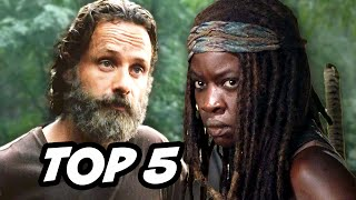 Walking Dead Season 5  Episode 11 - TOP 5 WTF