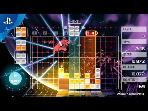 Lumines Remastered – Announce Trailer | PS4