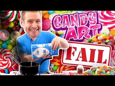 "🍭""CANDY ART"" CATASTROPHE!! - (I Never Wanted You To See This...)"