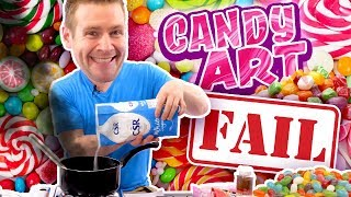"""🍭""""CANDY ART"""" CATASTROPHE!! - (I Never Wanted You to See This...)"""