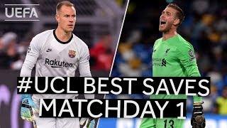 TER STEGEN, ADRIÁN: #UCL BEST SAVES, Matchday 1