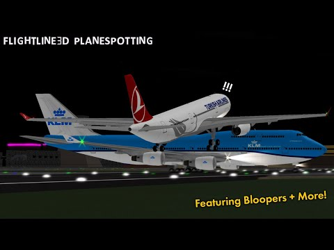Bloopers and Fails!! | Flightline | ROBLOX Gameplay