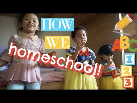 HOW WE HOMESCHOOL | Homeschool Global Philippines (Kindergarten)