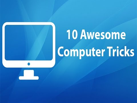 Top 10 Awesome Computer Tricks/Hacks - Tricks You Should Try