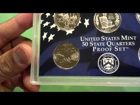 Mint proof coin set 2003 with state quarters