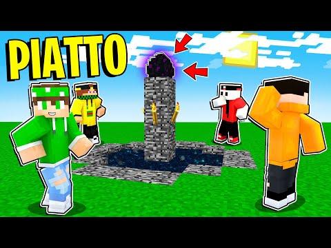 SI PUÒ FINIRE MINECRAFT IN UN MONDO *SUPER PIATTO*!? - Minecraft ITA