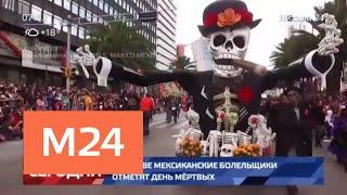 Смотреть видео В Москве мексиканские болельщики отметят День мертвых - Москва 24 онлайн