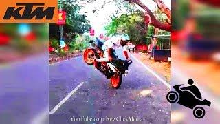 KTM Stunt   KTM RC 200   KTM Duke Stunt   KTM Stunt Show 2018   Best Bike Stunt   Bike Stunt Kerala