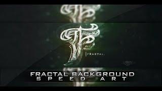 Speed Art: Fractal Background