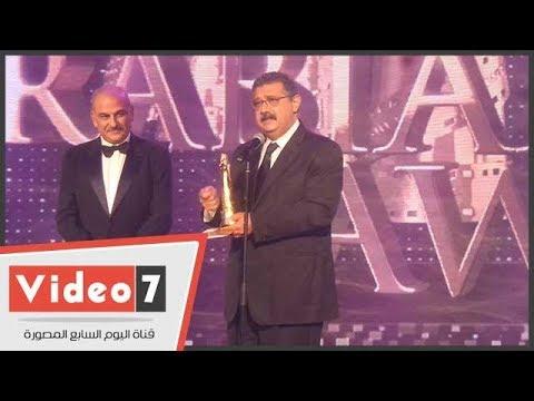 ماجد الكدوانى يحصد جائزة أفضل ممثل بحفل أوسكار السينما العربية  - 04:21-2017 / 10 / 21