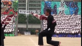 2015 福高体育祭 学校応援