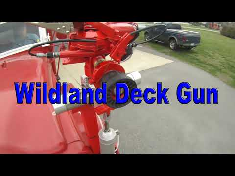 Wildland Fire Deck Gun