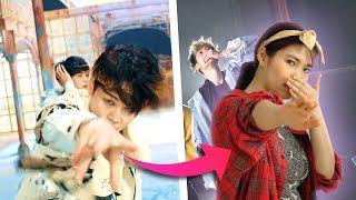 KPOP Tanz Choreo an 1 TAG lernen (BTS - Fake Love) | PocketHazel