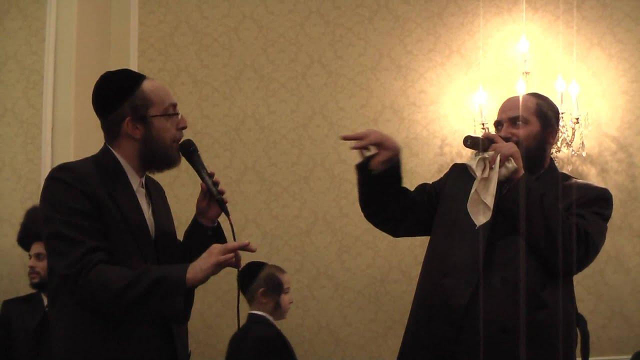 Arele Samet and Aba Vinkler at a Wedding