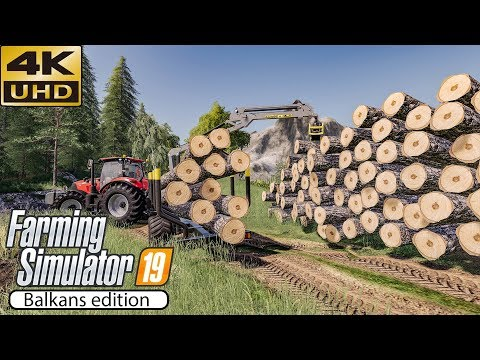 Forestry, land maintenance! ★ Farming Simulator 2019 Timelap