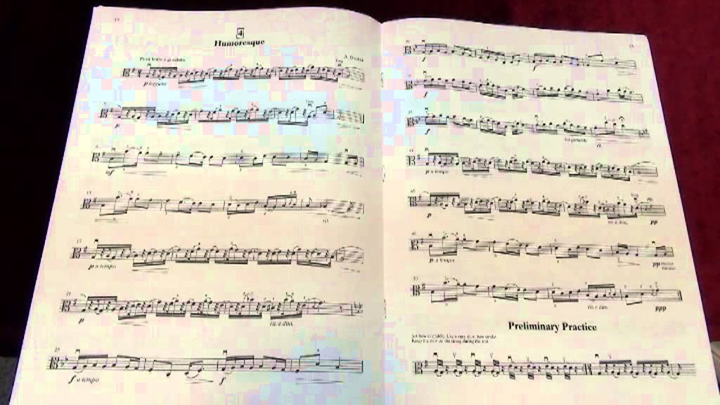 Suzuki Viola Book  Song List