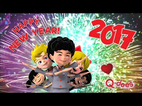 Happy New Year 2017 from Q-dees!