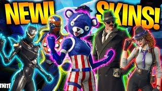the NEW FORTNITE SKINS! - Omega, Detective, Iron Man! (BEST SKINS EVER!)