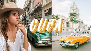 Traveling to Havana, Cuba   Travel Vlog