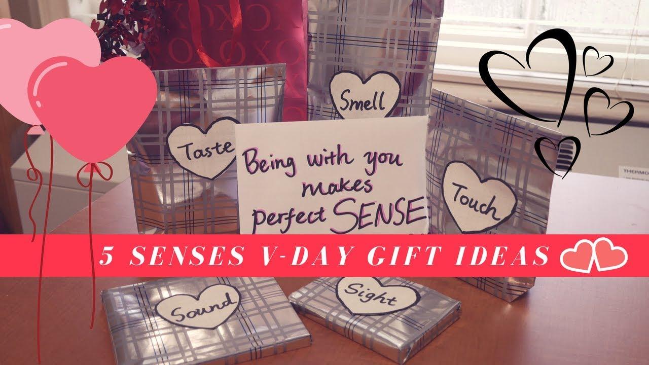What I Got My Bf For V Day 5 Senses Gift Ideas Youtube