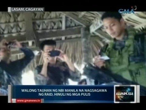 8 tauhan ng NBI Manila na nagsagawa ng raid, hinuli ng mga pulis
