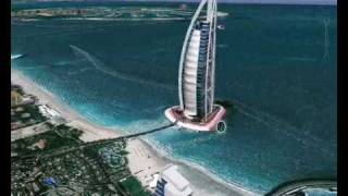 Google Earth- Burj Al Arab