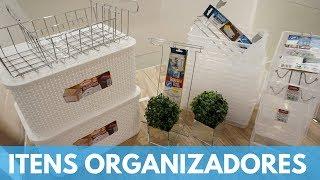 Comprinhas para organização do lar (loja popular)
