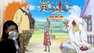 THE AFTERMATH OF IT ALL..| ONE PIECE EPISODE 504, 505, 506 REACTION