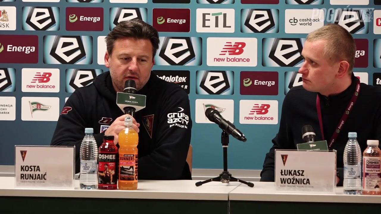 Kosta Runjaic po meczu Lechia Gdańsk – Pogoń Szczecin 1:3 (0:2)