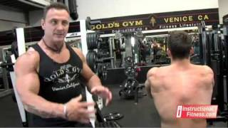 Instructional Fitness - Seated Machine Rows