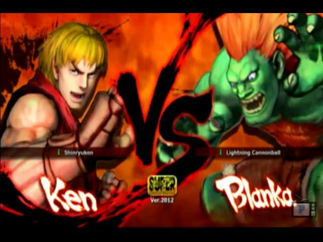 Luta na Live - Ken VS Blanka