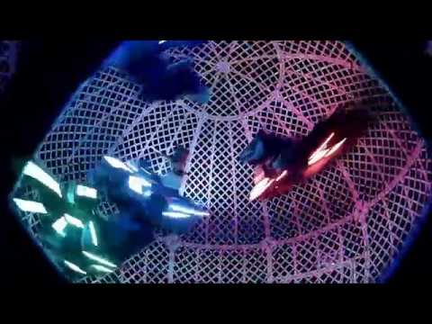 Globe of Death - 4 riders - Las Vegas Circus