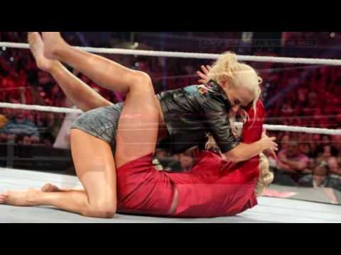 Descuidos de las Luchadoras   Divas de WWE +18   Loquendo