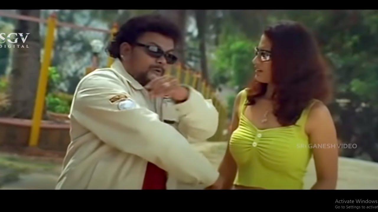 ನೀನು ನೋಡ್ತಾಯಿರು ಏನ್ಮಾಡ್ತಿನಿ ಅಂತ   Sadhu Kokila Best Comedy Scene   Tennis Krishna   Parodi