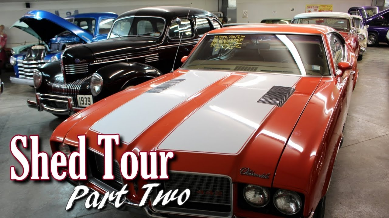 Shed Tour - Country Classic Cars - Part 2 - YouTube