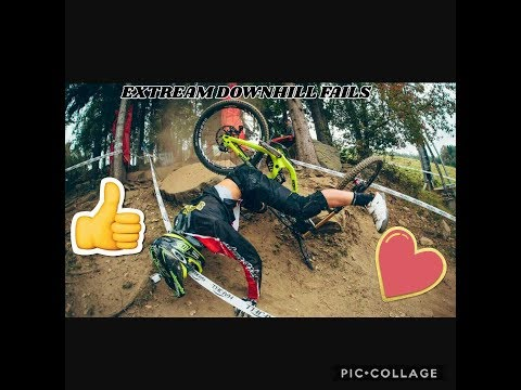 EXTREAM Downhill and MTB Fails R.I.P ➕