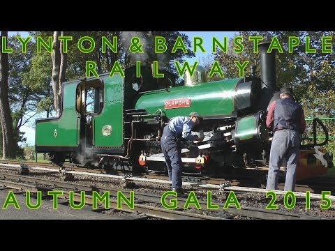 Lynton and Barnstaple Railway Autumn Gala 2015 with Ffestiniog Railway's BLANCHE