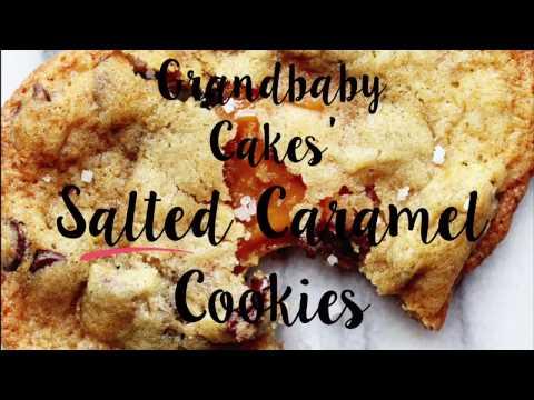 Salted Caramel Chocolate Chip Cookies Recipe