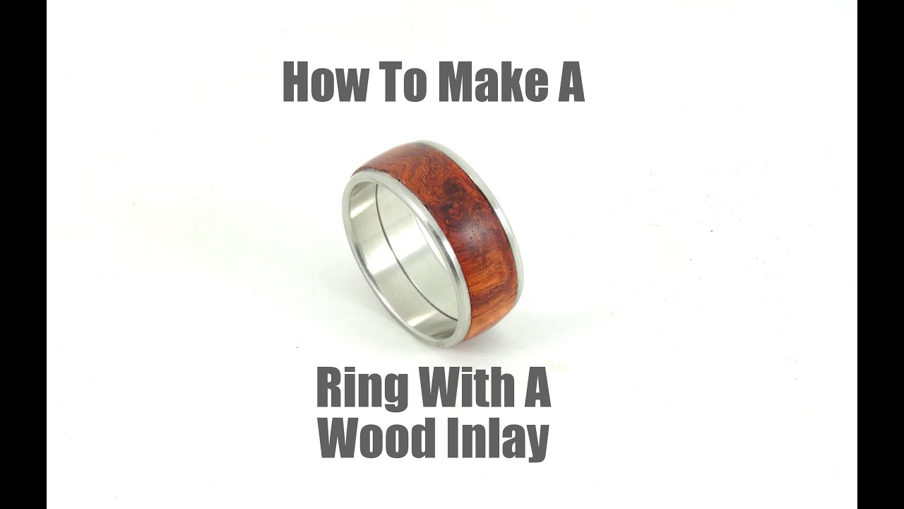shop ebony lined and sq inlay titanium with rings maple warren wood ring silver