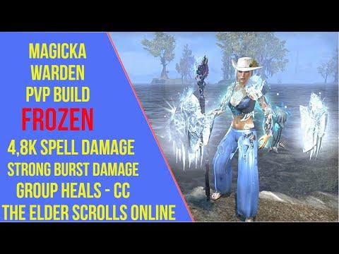 ESO Magicka Warden PVP Build - Frozen - Blackwood |