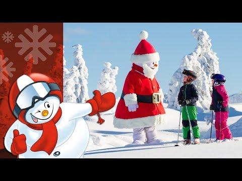 Valle - Jul på skidorna