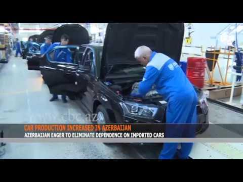 CAR PRODUCTION INCREASED IN AZERBAIJAN