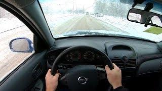 2006 Nissan Almera Classic 1.6L (107) POV TEST Drive
