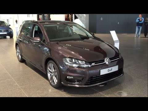 volkswagen golf r line lounge edition 2015 in detail. Black Bedroom Furniture Sets. Home Design Ideas