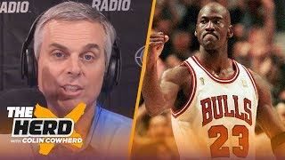 Why Michael Jordan and the 90s Bulls are so beloved by fans worldwide — Colin | NBA | THE HERD