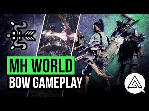 Monster Hunter World | New Bow in Depth Gameplay